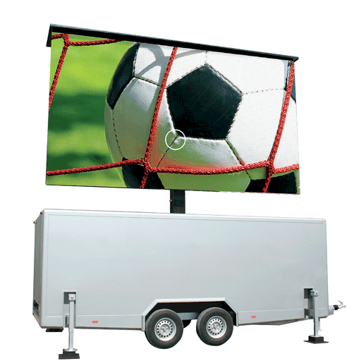 TT-15 - 15m2 LED-Videowand in Trailer