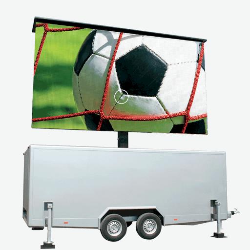 TT-15 - 15m2 LED-Videowand in Trailer