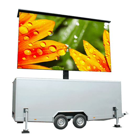 TT-16 - 16m2 LED-Videowand in Trailer