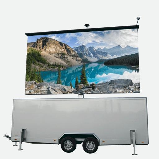TT-18 - 18,4m2 LED-Videowand in Trailer