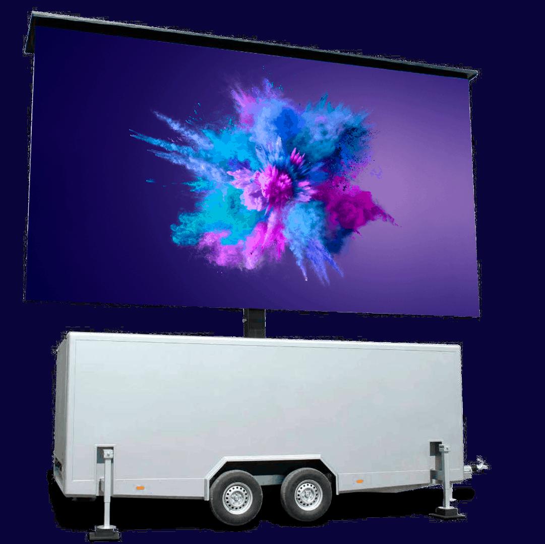 TT-21 - 21m2 ROE-LED-Videowand in Trailer